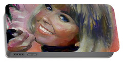 Doris Day Portable Battery Charger