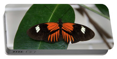 Doris Longwing On Leaf Portable Battery Charger