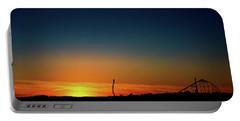 Dorney Park Sunset Portable Battery Charger