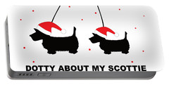 Dotty About My Scottie - Xmas Portable Battery Charger
