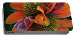 Portable Battery Charger featuring the photograph Double Coneflower by Dale Kincaid
