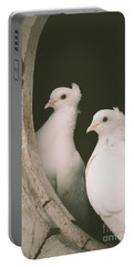 A Pair Of Doves Portable Battery Charger