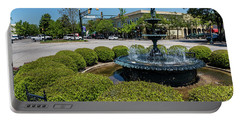 Downtown Aiken Sc Fountain Portable Battery Charger