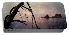 Portable Battery Charger featuring the photograph Drama At Sunset by Randi Grace Nilsberg