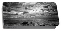 Dramatic Seascape Portable Battery Charger