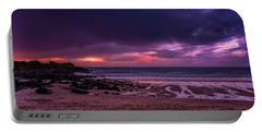 Dramatic Sky At Porthmeor Portable Battery Charger