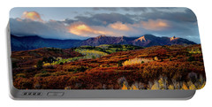 Dramatic Sunrise In The San Juan Mountains Of Colorado Portable Battery Charger