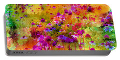 Dream Of Flowers Portable Battery Charger