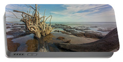 Drift Wood Beach Portable Battery Charger