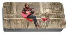 Dubrovnik Street Musician Portable Battery Charger