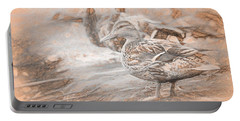 Ducks On Shore Da Vinci Portable Battery Charger