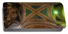 Portable Battery Charger featuring the photograph Dumo De Orvieto Ceiling by Tim Bryan