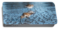 Dunlin And Bubbles Portable Battery Charger