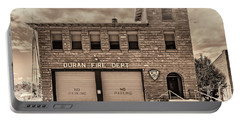 Duran Fire Dept Portable Battery Charger