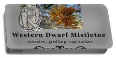 Dwarf Mistletoe Portable Battery Charger
