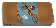 Eagle And Moon  Portable Battery Charger