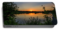 Eagle Bluffs Sunset Portable Battery Charger