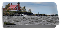 Eagle Harbor Lighthouse Portable Battery Charger