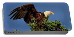 Eagle In Treetop Portable Battery Charger