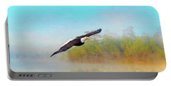 Eagle Out Of The Mist Portable Battery Charger