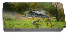 Early Morning Grazing Portable Battery Charger