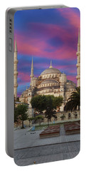 Early Morning Light On  Sultan Ahmet Camii Portable Battery Charger