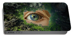 Earth Is Watching You Portable Battery Charger