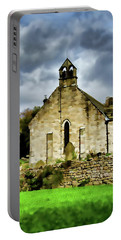 Easby Church Digital Painting Portable Battery Charger