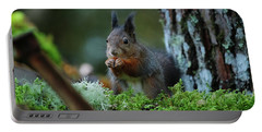 Eating Squirrel Portable Battery Charger
