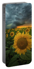Portable Battery Charger featuring the photograph Eccentric  by Aaron J Groen