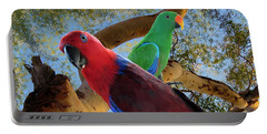 Eclectus Parrots Portable Battery Charger