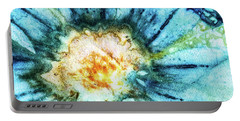 Eco Dyed Cosmos Portable Battery Charger
