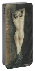 Edouard Chimot Nude In Boudoir  Portable Battery Charger