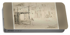 Edward Borein 1872-1945 Noontime In Taos Portable Battery Charger