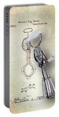 Eggbeater With Antique Eggbeater Patent Portable Battery Charger