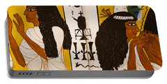 Portable Battery Charger featuring the photograph Egyptian Glory by Sue Harper
