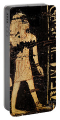 Portable Battery Charger featuring the photograph Egyptian Immortal Art by Sue Harper