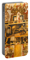 Portable Battery Charger featuring the photograph Egyptian Wall Art by Sue Harper