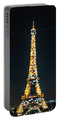 Portable Battery Charger featuring the photograph Eiffel Tower by Randy Scherkenbach