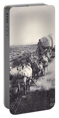 Eight Horse Heavy Freight Wagon Portable Battery Charger