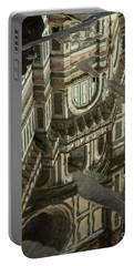 el Duomo The Florence Italy Cathedral Reflections Portable Battery Charger