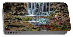 Portable Battery Charger featuring the photograph Elakala Falls 1020 by Donald Brown