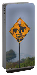 Elephant Crossing Portable Battery Charger