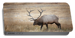 Elk In Yellowstone National Park Portable Battery Charger