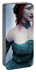 Elven Princess Portrait Portable Battery Charger