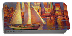 Emerald City Twilight Portable Battery Charger