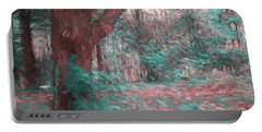 Emmaus Community Park Trail With Large Tree Portable Battery Charger