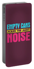 Empty Cans Portable Battery Charger
