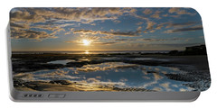 Encinitas Sunset Square Format Portable Battery Charger