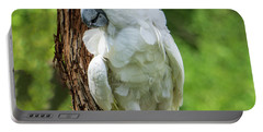 Endangered White Cockatoo Portable Battery Charger